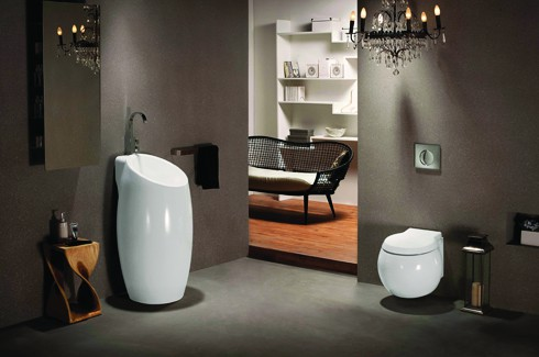 Jaquar enters europe the inside track connecting the for Jaquar bathroom designs