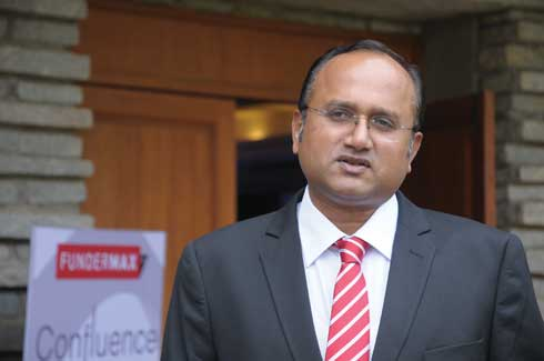 Dr Prashanth Reddy, MD and CEO FunderMax India Private Limited