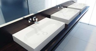 The washbasins by Kaldewei are robust, tough but also stylish