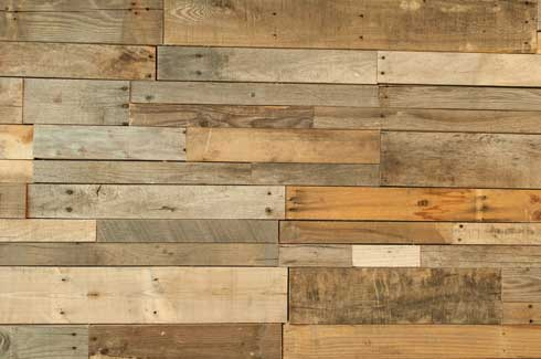Recycled wood is reclaimed from demolished buildings, old logs, homes and is more durable than new wood
