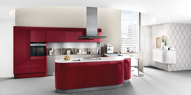 H cker launches its weinrot modular kitchen the inside for Best material for modular kitchen cabinets