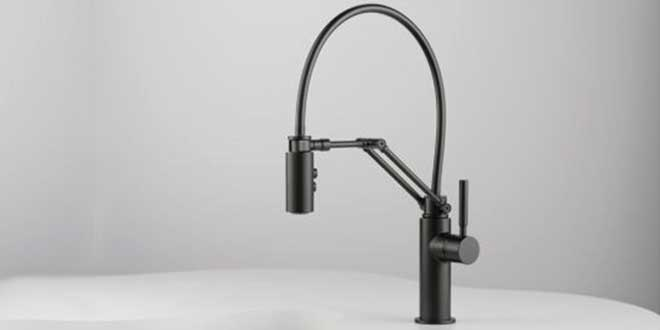 Solna Articulating Kitchen Faucet By Delta Faucet Company The