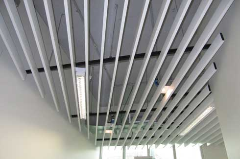 Envirospray 300 is a spray applied sound absorber that is primarily used to achieve reverberation control in internal spaces