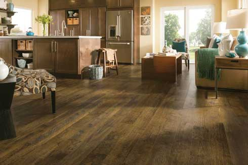 Luxury vinyl is a new category of flooring that combines the high-end look of hardwood or stone with the durability of vinyl