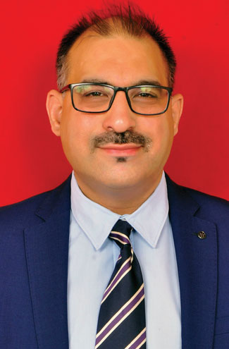 Rahul Kher,  Country Manager -  Indian Sub-Continent, Keuco India