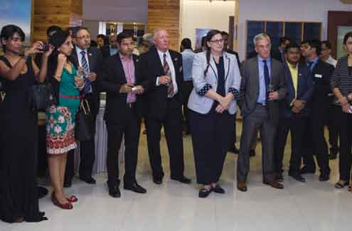 Canadian Wood, represented in India by Forestry Innovation Consulting India Pvt. Ltd., celebrated 4 years of existence in India at their display centre in Mumbai