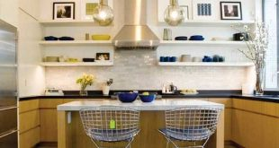 Kitchen Décor, appealing, colours, furnishing, green.
