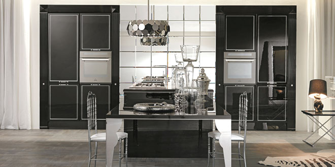 Aster Cucine, Luxury Glam, kitchen cabinets, glamour, Ottimo.