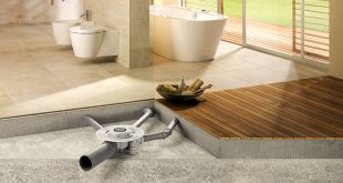 Viega, Advantix Triple Inlet Drain, Indian bathrooms, three movable arms, water seal.