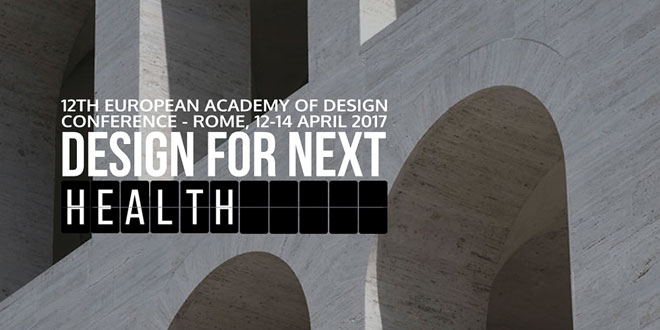 Design For Next, Rome, EAD Conference, Sapienza University.