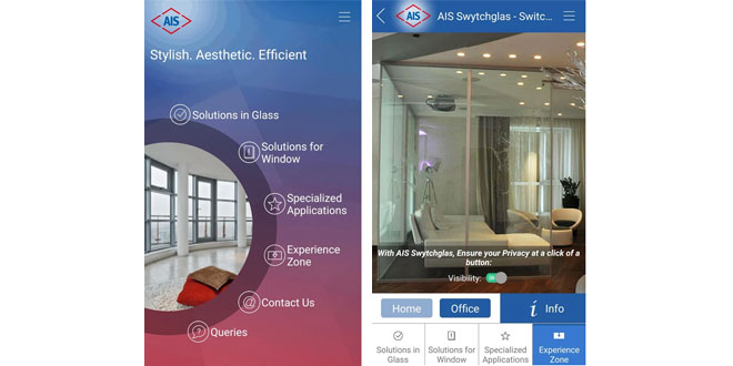 Asahi India Glass Ltd,AIS - World of Glass,innovation,Mobile Application.