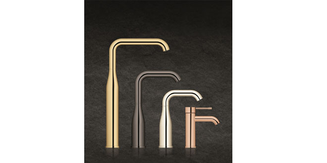 Grohe, Grohe Essence, geometric structure, Good Design Award, iF Product Design Award