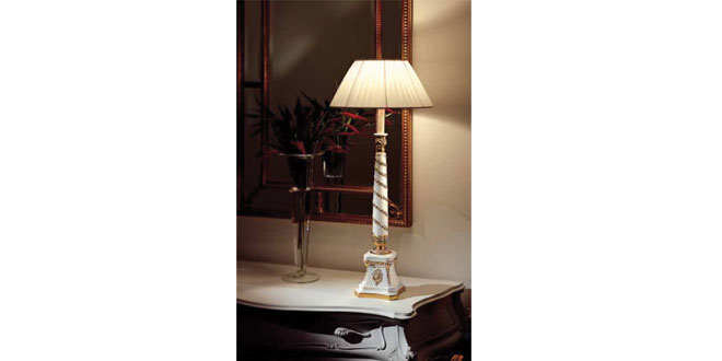 Wisma Atria, Nomita Kohli, White colour furniture, Florence ivory, table lamps
