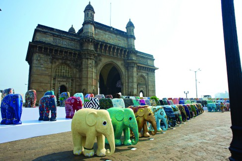 Elephant Parade,Grand Hyatt,Mumbai.